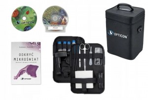 Mikroskop Opticon Biolife PRO + KAMERA USB