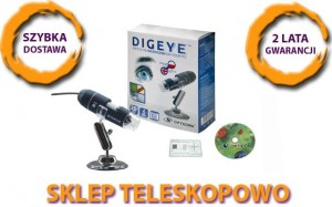 Ręczny Mikroskop USB Opticon Digeye